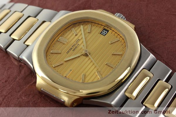 Used luxury watch Patek Philippe Nautilus steel / gold automatic Kal. 335 SC Ref. 3800/1  | 141995 17