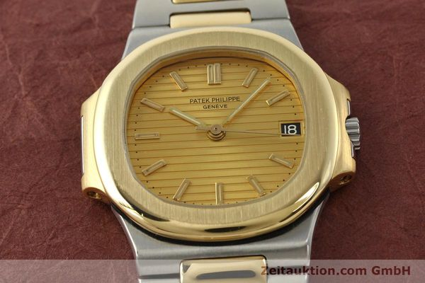 Used luxury watch Patek Philippe Nautilus steel / gold automatic Kal. 335 SC Ref. 3800/1  | 141995 18