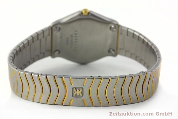 Used luxury watch Ebel Classic Wave steel / gold quartz Kal. 81 Ref. 181930X  | 141999 10