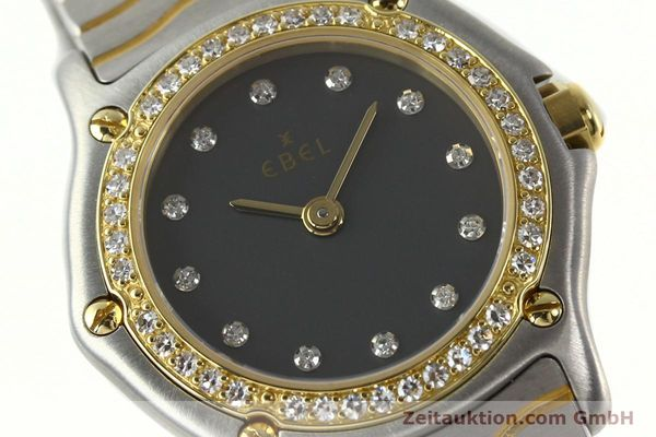 Used luxury watch Ebel Classic Wave steel / gold quartz Kal. 057 Ref. 1057902  | 142000 02