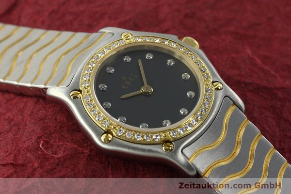 Used luxury watch Ebel Classic Wave steel / gold quartz Kal. 057 Ref. 1057902  | 142000 13