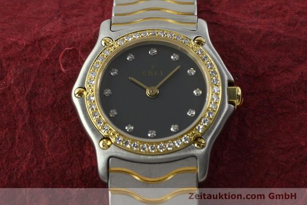 Used luxury watch Ebel Classic Wave steel / gold quartz Kal. 057 Ref. 1057902  | 142000 14