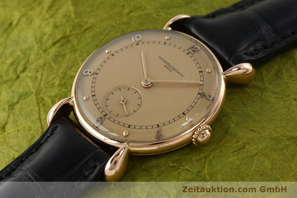 Used luxury watch Vacheron & Constantin * 18 ct red gold manual winding Kal. 203  | 142003 01