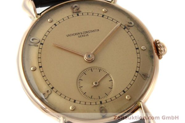 Used luxury watch Vacheron & Constantin * 18 ct red gold manual winding Kal. 203  | 142003 02