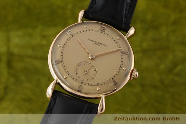 Used luxury watch Vacheron & Constantin * 18 ct red gold manual winding Kal. 203  | 142003 04