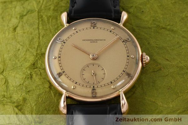 Used luxury watch Vacheron & Constantin * 18 ct red gold manual winding Kal. 203  | 142003 16