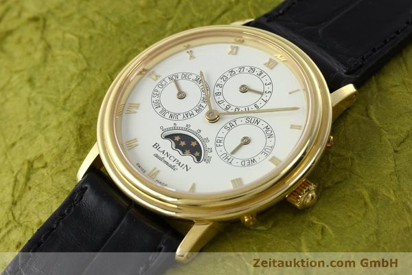 montre de luxe d occasion Blancpain Villeret or 18 ct automatique Kal. 95  | 142004 01