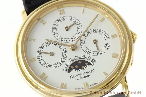 montre de luxe d occasion Blancpain Villeret or 18 ct automatique Kal. 95  | 142004 02