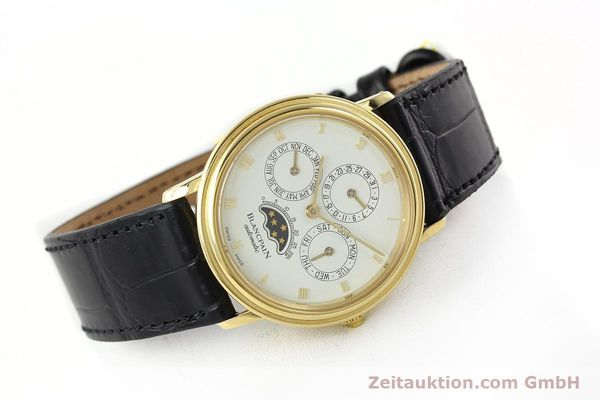 montre de luxe d occasion Blancpain Villeret or 18 ct automatique Kal. 95  | 142004 03