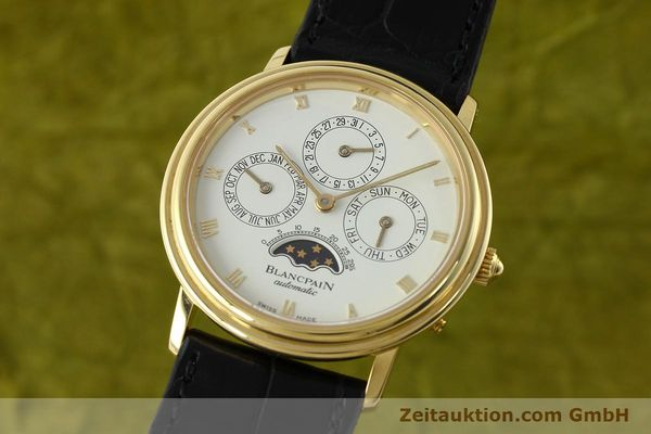 montre de luxe d occasion Blancpain Villeret or 18 ct automatique Kal. 95  | 142004 04