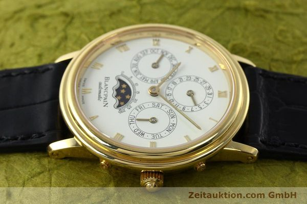 montre de luxe d occasion Blancpain Villeret or 18 ct automatique Kal. 95  | 142004 05
