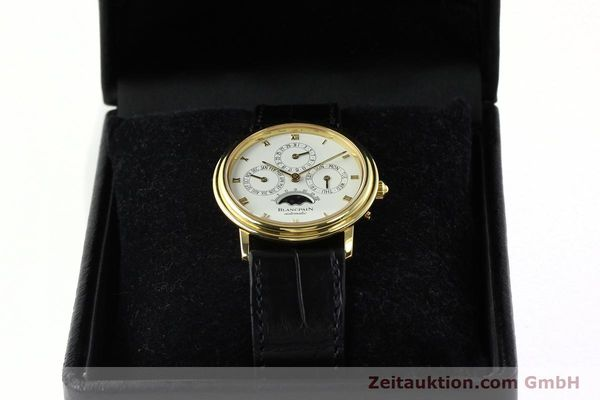 montre de luxe d occasion Blancpain Villeret or 18 ct automatique Kal. 95  | 142004 07