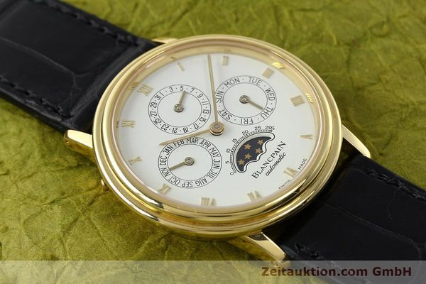 montre de luxe d occasion Blancpain Villeret or 18 ct automatique Kal. 95  | 142004 17