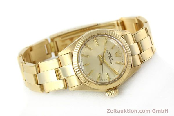 Used luxury watch Rolex Oyster Perpetual 18 ct gold automatic Kal. 2030 Ref. 6719  | 142005 03