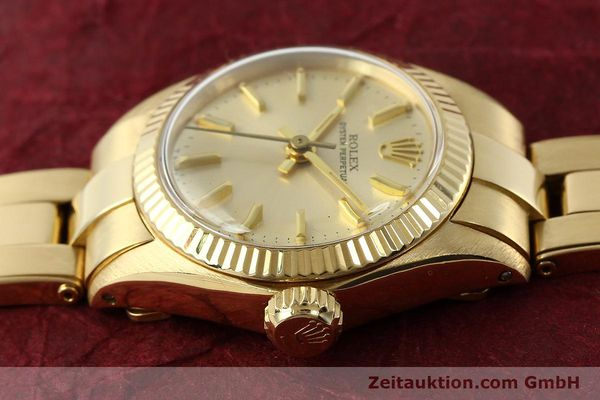 Used luxury watch Rolex Oyster Perpetual 18 ct gold automatic Kal. 2030 Ref. 6719  | 142005 05
