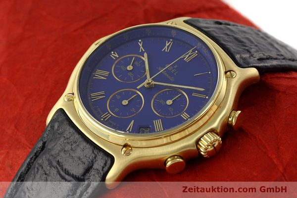 Used luxury watch Ebel 1911 chronograph 18 ct gold automatic Kal. 134 Ref. 64101989  | 142007 01