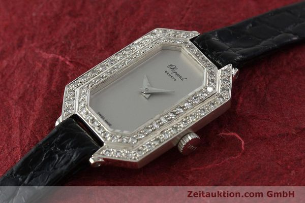 Used luxury watch Chopard * 18 ct white gold manual winding Kal. 730 Ref. 5191  | 142010 01