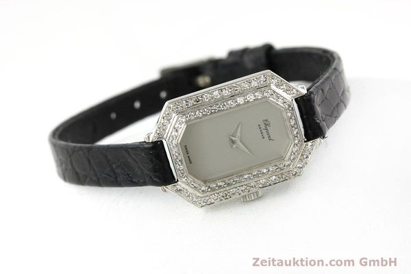 Used luxury watch Chopard * 18 ct white gold manual winding Kal. 730 Ref. 5191  | 142010 03