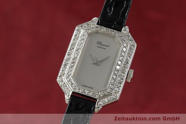 Used luxury watch Chopard * 18 ct white gold manual winding Kal. 730 Ref. 5191  | 142010 04