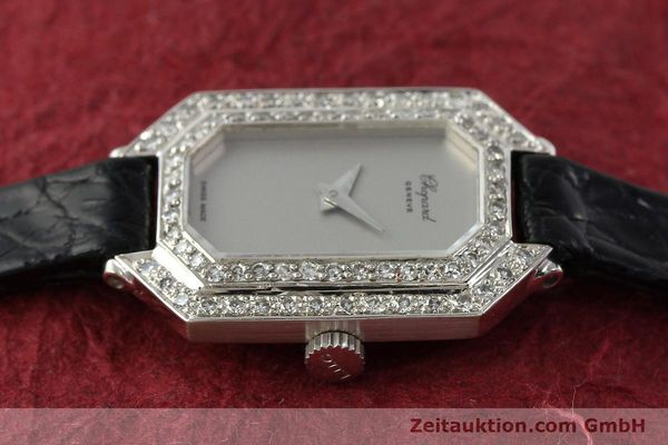 Used luxury watch Chopard * 18 ct white gold manual winding Kal. 730 Ref. 5191  | 142010 05
