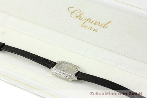 Used luxury watch Chopard * 18 ct white gold manual winding Kal. 730 Ref. 5191  | 142010 07