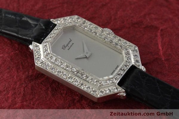 Used luxury watch Chopard * 18 ct white gold manual winding Kal. 730 Ref. 5191  | 142010 13