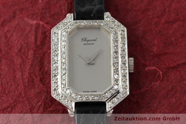 Used luxury watch Chopard * 18 ct white gold manual winding Kal. 730 Ref. 5191  | 142010 14