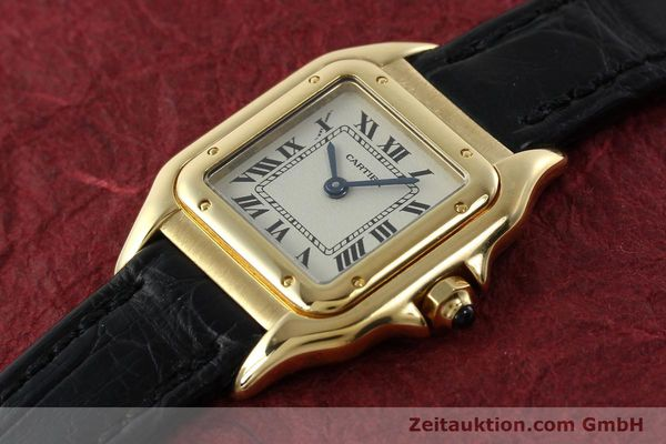 gebrauchte Luxusuhr Cartier Panthere 18k Gold Quarz Kal. 157  | 142011 01