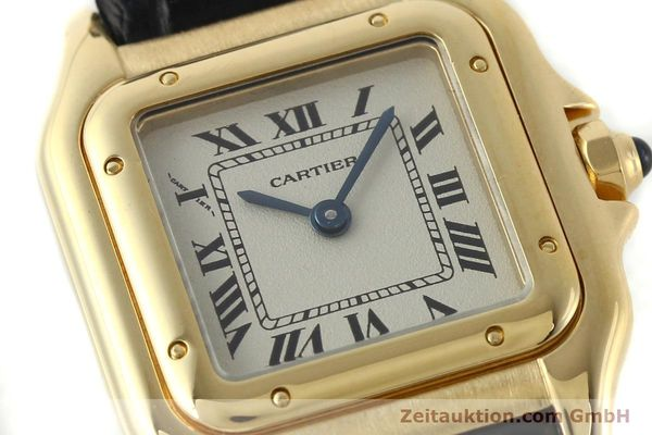 gebrauchte Luxusuhr Cartier Panthere 18k Gold Quarz Kal. 157  | 142011 02