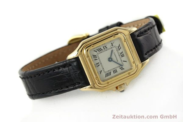 gebrauchte Luxusuhr Cartier Panthere 18k Gold Quarz Kal. 157  | 142011 03