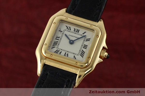 gebrauchte Luxusuhr Cartier Panthere 18k Gold Quarz Kal. 157  | 142011 04