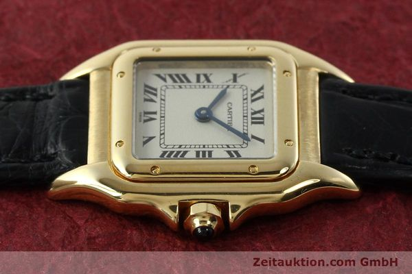 gebrauchte Luxusuhr Cartier Panthere 18k Gold Quarz Kal. 157  | 142011 05