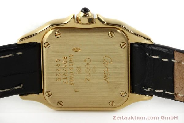 gebrauchte Luxusuhr Cartier Panthere 18k Gold Quarz Kal. 157  | 142011 09
