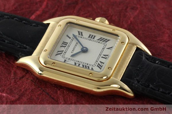 gebrauchte Luxusuhr Cartier Panthere 18k Gold Quarz Kal. 157  | 142011 14