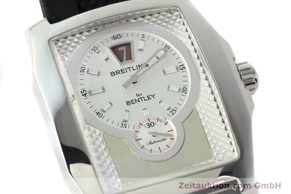 Used luxury watch Breitling Bentley steel automatic Kal. B28 ETA 2892A2 Ref. A28362  | 142015 02