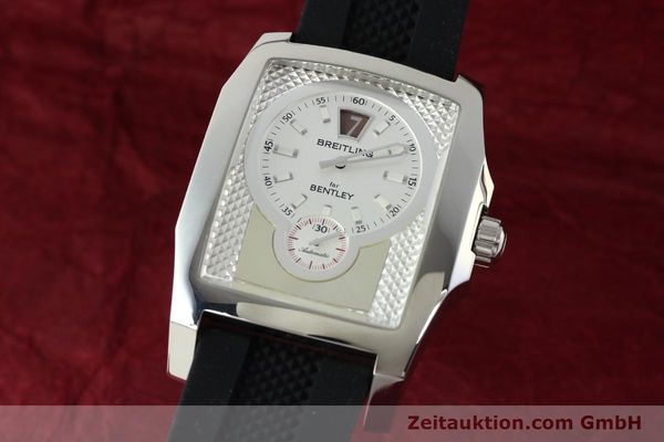 Used luxury watch Breitling Bentley steel automatic Kal. B28 ETA 2892A2 Ref. A28362  | 142015 04