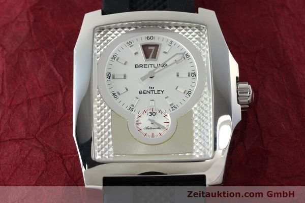Used luxury watch Breitling Bentley steel automatic Kal. B28 ETA 2892A2 Ref. A28362  | 142015 14