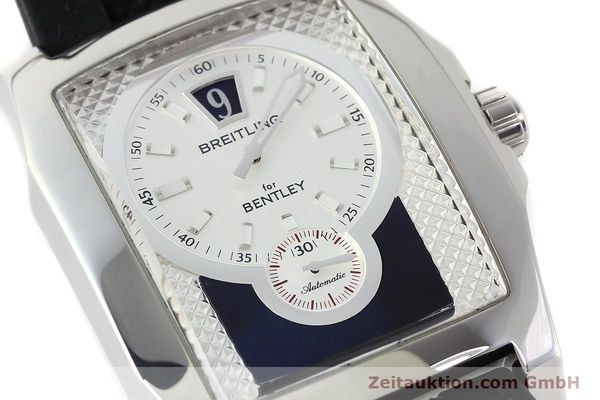 Used luxury watch Breitling Bentley steel automatic Kal. B28 ETA 2892A2 Ref. A28362  | 142016 02