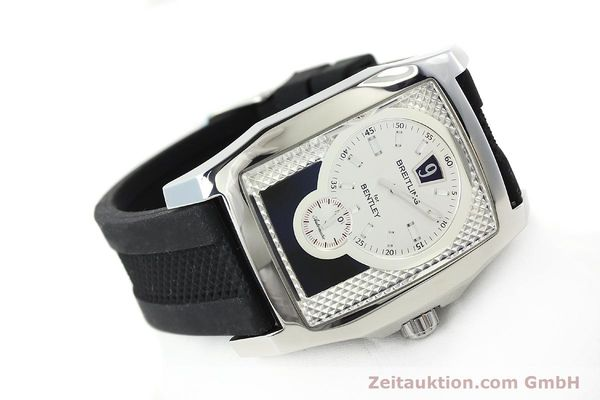 Used luxury watch Breitling Bentley steel automatic Kal. B28 ETA 2892A2 Ref. A28362  | 142016 03