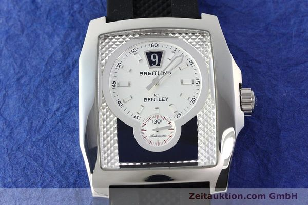 Used luxury watch Breitling Bentley steel automatic Kal. B28 ETA 2892A2 Ref. A28362  | 142016 13