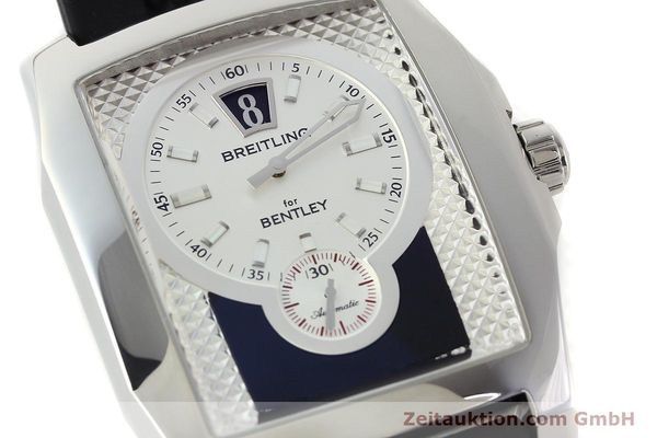 Used luxury watch Breitling Bentley steel automatic Kal. B28 ETA 2892A2 Ref. A28362  | 142017 02