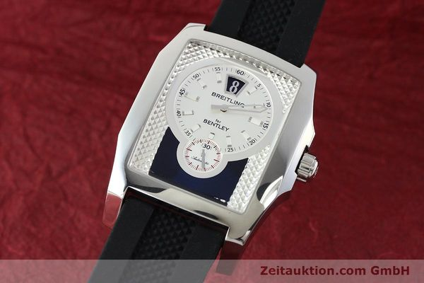 Used luxury watch Breitling Bentley steel automatic Kal. B28 ETA 2892A2 Ref. A28362  | 142017 04