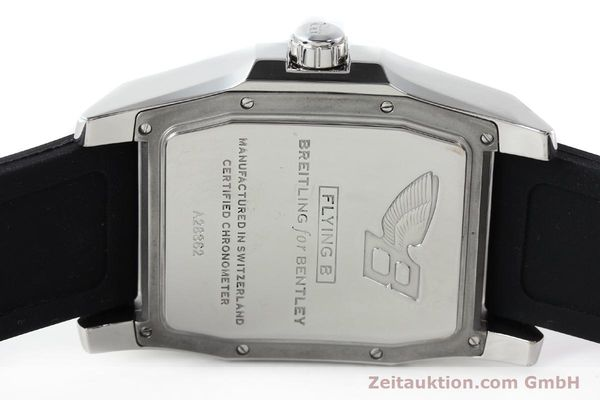 Used luxury watch Breitling Bentley steel automatic Kal. B28 ETA 2892A2 Ref. A28362  | 142017 09