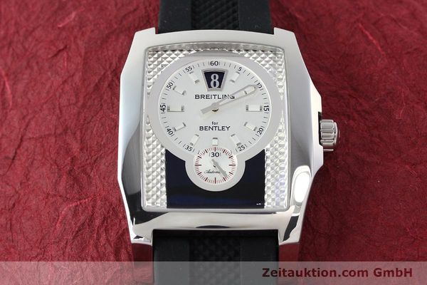 Used luxury watch Breitling Bentley steel automatic Kal. B28 ETA 2892A2 Ref. A28362  | 142017 14