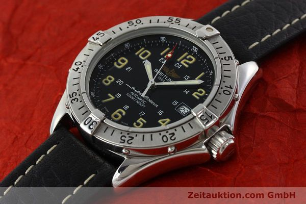 Used luxury watch Breitling Superocean steel automatic Kal. B17 ETA 2824-2 Ref. A17040  | 142018 01