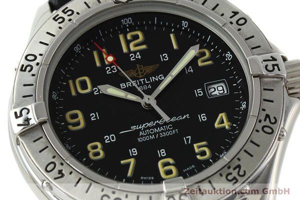 Used luxury watch Breitling Superocean steel automatic Kal. B17 ETA 2824-2 Ref. A17040  | 142018 02