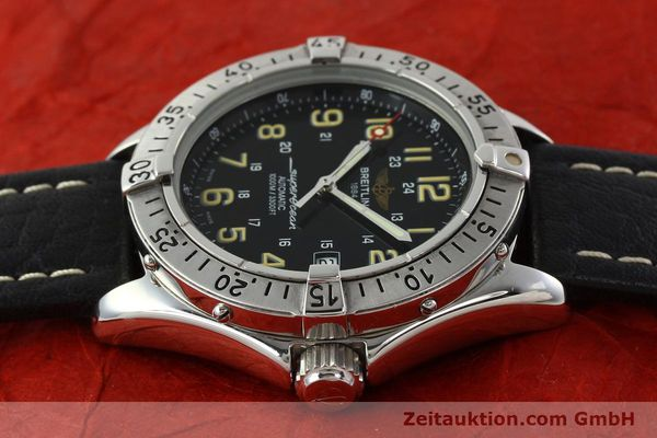 Used luxury watch Breitling Superocean steel automatic Kal. B17 ETA 2824-2 Ref. A17040  | 142018 05