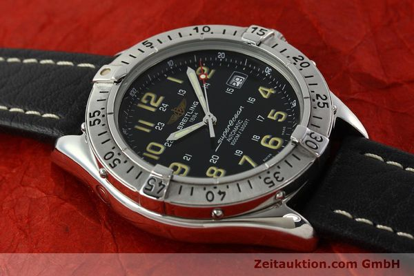 Used luxury watch Breitling Superocean steel automatic Kal. B17 ETA 2824-2 Ref. A17040  | 142018 13
