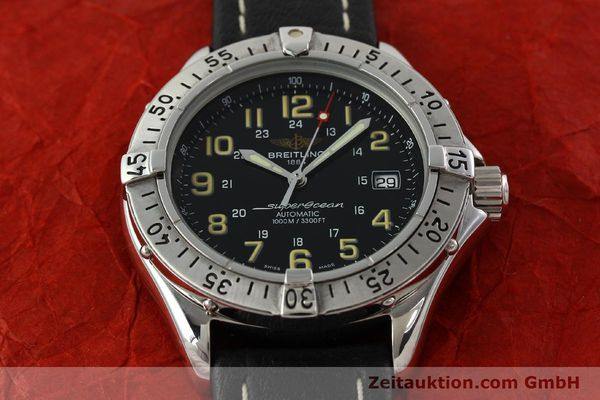 Used luxury watch Breitling Superocean steel automatic Kal. B17 ETA 2824-2 Ref. A17040  | 142018 14