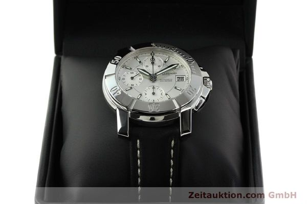 Used luxury watch Baume & Mercier Capeland chronograph steel automatic Kal. BM 13750 ETA 7750 Ref. 65352  | 142021 07